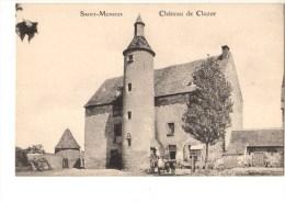 03---SAINT-MENOUX---château De Cluzor---voir 2 Scans - Francia