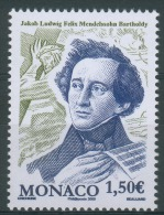 Monaco, Felix Mendelssohn (1809-1847), German Composer, 2009, MNH VF - Nuovi