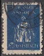 Angola, 1929 - 50c Charity - Nr.RA4 Usato° - Angola