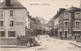 PONT CHATEAU LA GRANDE RUE (ENFANTS ET BILLARD GICQUIAUD) - Pontchâteau