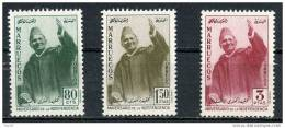 MOROCCO 1957, NORTH SIDE, MNH**. FULL SET - Morocco (1956-...)