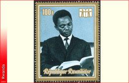Rwanda 0518A**  100Fr Kayibanda   MNH