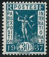 FRANCE 1936 - Yv. 323 ** Variétés  Cote= 4,50 EUR - Expo Internationale De Paris, 1937 ..Réf.FRA26772 - Nuovi