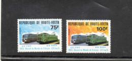 HAUTE-VOLTA : Trains - Locomotives : CC7107 Et BB9004 - Record De Vitesse - Transport - - Alto Volta (1958-1984)