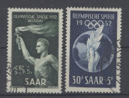 Saar Michel No. 314 - 315 gestempelt used