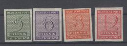 West Sachsen Michel No. 116 - 119 Y * ungebraucht