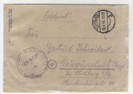 Brief Feldpost 1945 Torgau