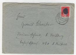 Brief S�chsische Schw�rzung Stollberg