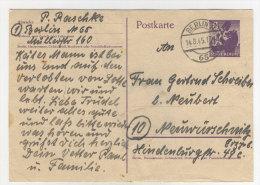 Berlin Brandenburg Ganzsache P 2 gebraucht