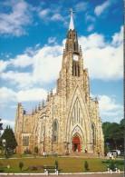 BR.- Canela. Rio Grande Do Sul. Kathedraal Igreja Matriz De Nossa Senhora De Lourdes. Catedral De Pedras. Brasil.2 Scans - Brazilië