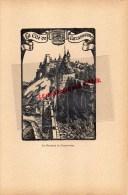 11- CARCASSONNE- LES REMPARTS - GRAVURE CATHEDRALE  PAR JEAN DRUET - 1934- PAUL DUVAL EDITEUR ELBEUF - Prints & Engravings