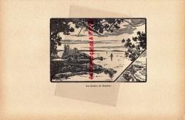 64- PAYS BASQUE - BIARRITZ - GRAVURE CATHEDRALE  PAR JEAN DRUET - 1934- PAUL DUVAL EDITEUR ELBEUF - Prints & Engravings