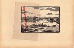 64-  LE PORT DE BAYONNE  - GRAVURE CATHEDRALE  PAR JEAN DRUET - 1934- PAUL DUVAL EDITEUR ELBEUF - Prints & Engravings