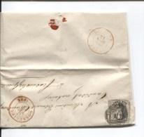 TP Médaillon S/LAC C.Rouge Gosselies 21/3/1856 V.Frasnes Lez Gosselies C.d'arrivée PR1977 - 1851-1857 Médaillons (6/8)