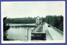 58. En Morvan. Lac Des Settons. La Digue - Montsauche Les Settons