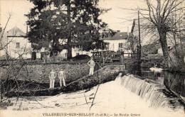 CPA  -  VILLENEUVE - SUR - BELLOT  (77)   Le Moulin Grison - France