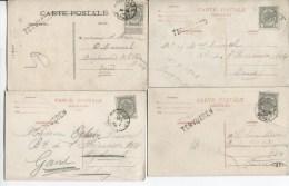 CP De Tervueren C.Bruxelles + Griffe Tervueren  V.Gand PR1979 - Postmark Collection