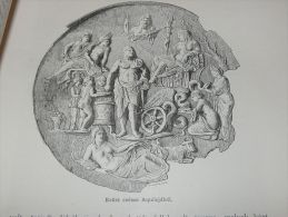 Aquileia Italy Italia Holzschnitt Gravur Holzdruck Wood Print Stampa Di Legno 1888 - Stampe & Incisioni