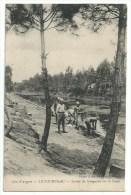 33  Le Courneau - Lavoir De  Sénégalais Sur Le Canal - France