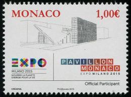 MONACO - 2015 - Expo Milano 2015, Pavillon De Monaco - 1v Neufs // Mnh - Monaco