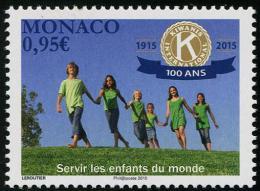 MONACO - 2015 - 100 Ans De Kiwanis International, Servir Les Enfants - 1v Neufs // Mnh - Monaco