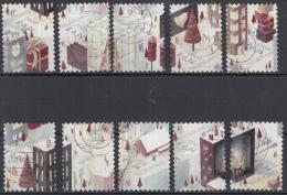 Nederland - Decemberzegels 2008 - Kerstzegels 2008 - Postfris/MNH - NVPH 2609-2618 - Periode 1980-... (Beatrix)