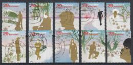 Nederland - Decemberzegels 2002 - Kerstzegels 2002 - Gebruikt/used - NVPH 2115-2134 - Periode 1980-... (Beatrix)