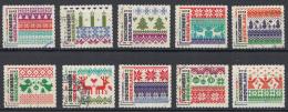 Nederland - Decemberzegels 2012 - Gebruikt/gebraucht/used - NVPH 3002 – 3011 - Period 1980-... (Beatrix)