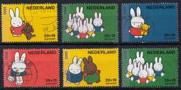 Nederland - Kinderzegels - Nijntje - Dick Bruna - Gebruikt/gebraucht/used - NVPH 2370aA-2370fA - Periode 1980-... (Beatrix)