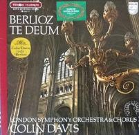 * LP *  BERLIOZ - TE DEUM - LONDON SYMPHONY ORCHESTRA / COLIN DAVIS (France 1969 EX!!!) - Klassiekers