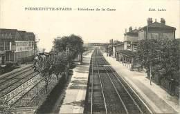 PIERREFITTE STAINS INTERIEUR DE LA GARE - Pierrefitte Sur Seine