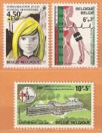 COB  1881/1883  (MNH)  (Lot 240) - Belgique
