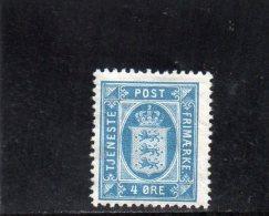 DANEMARK 1915-24 * - Service