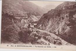 CPA 73 ENVIRONS DE MOUTIERS-SALINS Vue Générale Sur BRIDES  C192 - France
