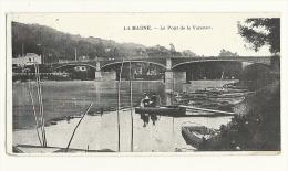Mini Cp, 94, La Marne, Le Pont De La Varenne, écrite - Autres Communes