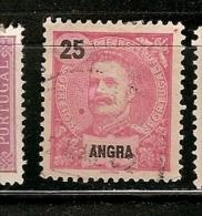 Portugal  & Angra, D. Carlos I, 1898-1905 (28) - Angra
