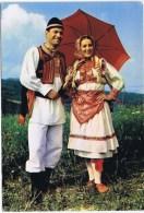 Cpm  ZAGREB Costume National - Yugoslavia