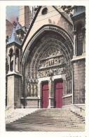 Cp, 59, Lille, Cathédrale N.D. De La Treille, Portail Saint-Eubert - Lille