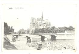 Cp, 75, Paris, Notre-Dame - Notre Dame De Paris