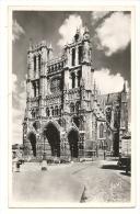 Cp, 80, Amiens, La Cathédrale, écrite 1953 - Amiens