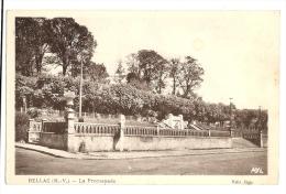 Cp, 87, Bellac, LA Promenade - Bellac