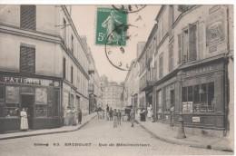 83-BAGNOLET-Rue De Ménilmontant(devanture Patisserie Et Epicerie) - Bagnolet