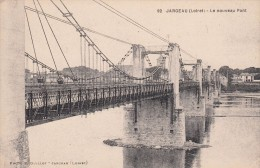 Cp , 45 , JARGEAU , Le Nouveau Pont - Jargeau