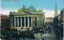 Bruxelles  La Bourse  Tram - België