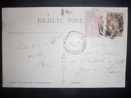 Portugal Carte De Porto 1921 Pour St Medard - 1910 - ... Repubblica