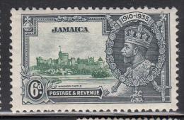Jamaica MNH Scott #111 6p 1935 George V Silver Jubilee - Familles Royales