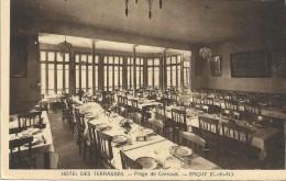 ERQUY - 22 - CARTE PUB Hotel Des Terrasses - Plage De Carroual - VAN - - Erquy