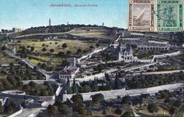 JERUSALEM - Mont Des Oliviers 1914 - Israel
