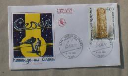 FDC  CESAR HOMMAGE AU CINEMA        1984     0121 - FDC