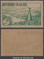 2Fr Rivière Bretonne Neuf ** Sans Charnière TB (Y&T N° 301 , Cote 85€) - France